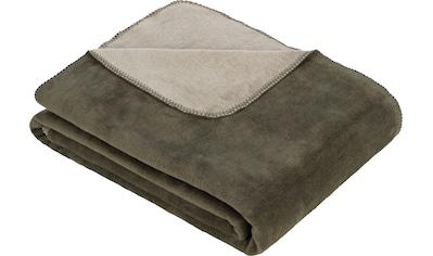 IBENA Wohndecke »Jacquard Decke Dublin«, praktische Wendedecke kaufen