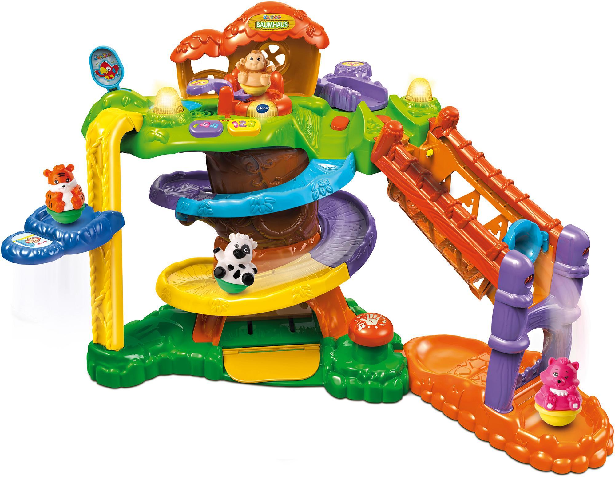 """Vtech Spiel-Parkgarage """"ZoomiZooz - Baumhaus"""" Kindermode/Spielzeug/Autos, Eisenbahn & Modellbau/Spielzeugautos/Zubehör für Spielzeugautos"""