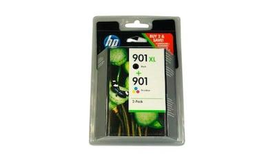 HP Tintenpatrone »hp 901 XL+ hp 901 original, Combo Pack. - SD519AE - sw/c/m/y« kaufen