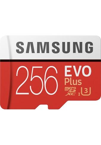 Samsung Speicherkarte »EVO Plus 2020 microSD«, (UHS Class 3 100 MB/s Lesegeschwindigkeit) kaufen