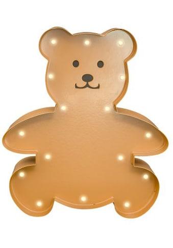 MARQUEE LIGHTS LED Dekolicht »Teddy«, 1 St., Warmweiß, Wandlampe, Tischlampe Teddy mit... kaufen