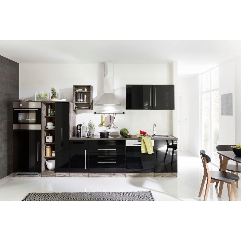 HELD MÖBEL Küchenzeile »Samos«, ohne E-Geräte, Breite 350 cm