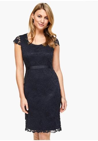 s.Oliver BLACK LABEL Spitzen - Kleid kaufen