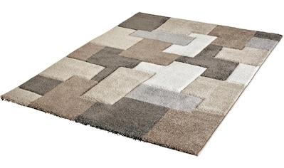 Obsession Teppich »My Acapulco 683«, rechteckig, 21 mm Höhe, Patchwork Design,... kaufen