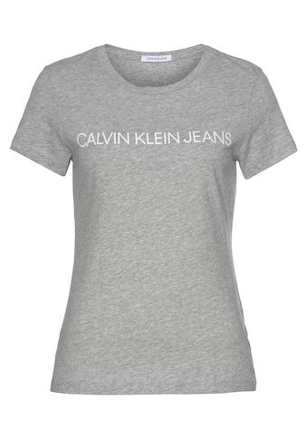 Calvin Klein Jeans T - Shirt »CORE INSTITUTIONAL LOGO SLIM FIT TEE« kaufen