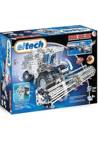 Eitech Metallbaukasten »Mähdrescher/ Traktor mit Anhänger«, (1000 St.), Made in Germany kaufen