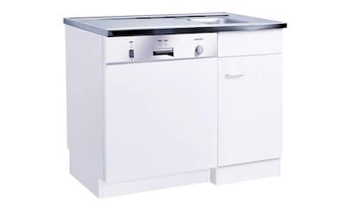 HELD MÖBEL Spülenschrank »Elster«, Spülzentrum für Unterbau-Geschirrspüler, ohne Front B/H/T: ca. 100/60/85 cm kaufen