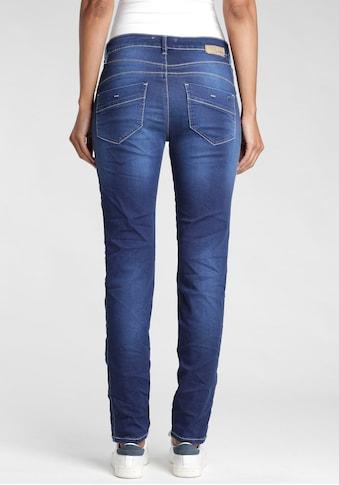 GANG Slim-fit-Jeans »SANA«, mit breiten eingesetzten Streifen an der Seite kaufen
