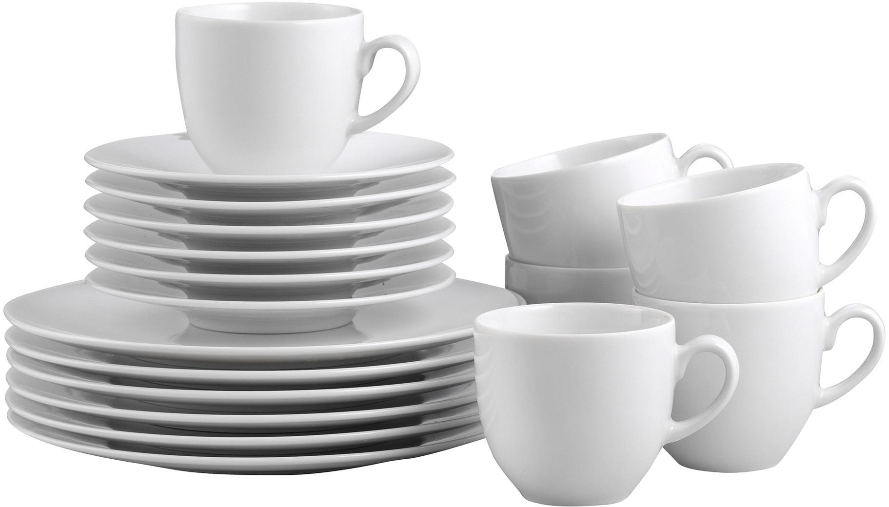 CreaTable Kaffeeservice, Porzellan, 18 Teile, »...