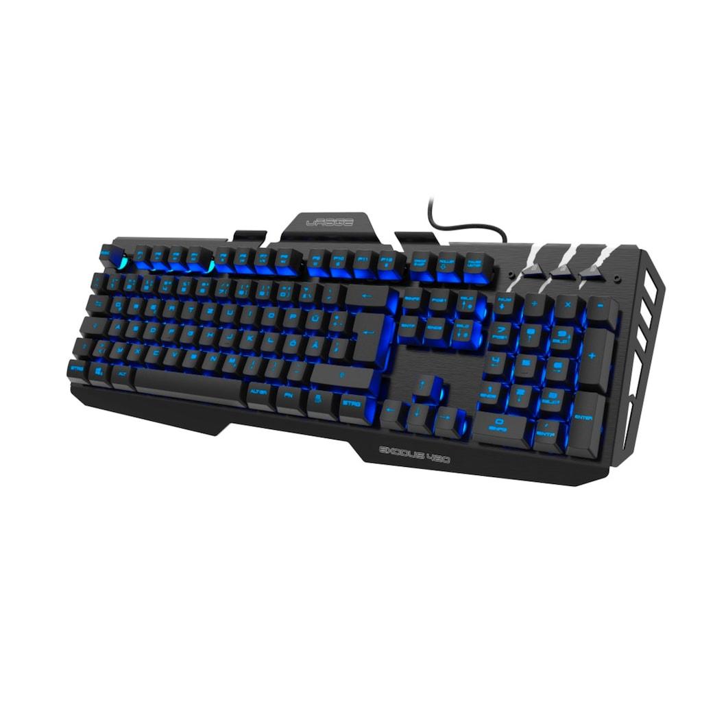 """uRage Gaming-Keyboard """"Exodus 420 Metal"""""""