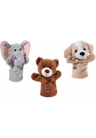 """Heunec® Handpuppe """"Bär, Hund, Elefant"""" (Set, 3 - tlg.) kaufen"""