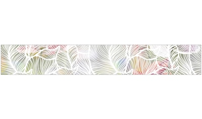 MySpotti Fensterfolie »Look Leaves white«, halbtransparent, glattstatisch haftend, 200... kaufen
