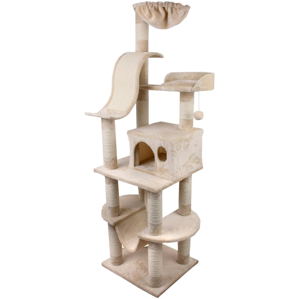 SILVIO design Kratzbaum »Adonis«, hoch, BxTxH: 50x45x162 cm