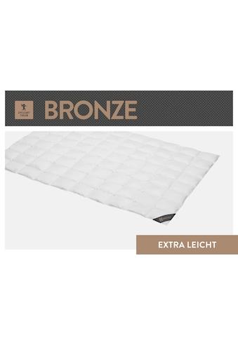 SPESSARTTRAUM Daunenbettdecke »Bronze«, extraleicht, Füllung 90% Daunen, 10% Federn, Bezug 100% Baumwolle, (1 St.), hergestellt in Deutschland, allergikerfreundlich kaufen