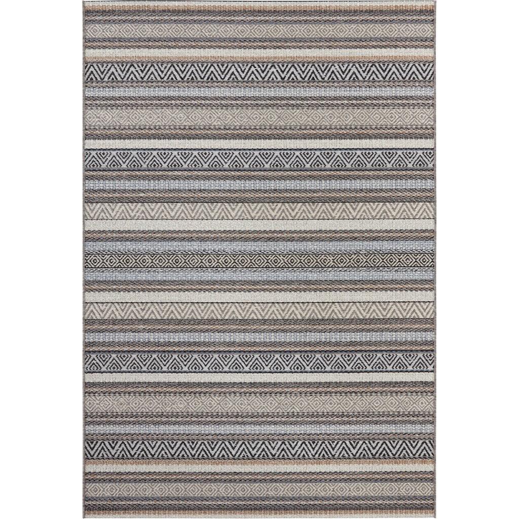 ELLE Decor Teppich »Rodez«, rechteckig, 6 mm Höhe, Flachgewebe, In- und Outdoor geeignet, Wohnzimmer