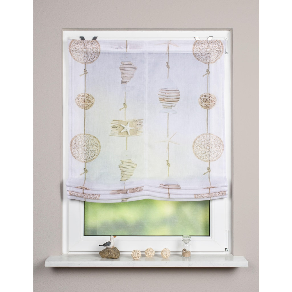 Vision S Raffrollo »COCOA«, mit Klettband, freihängend
