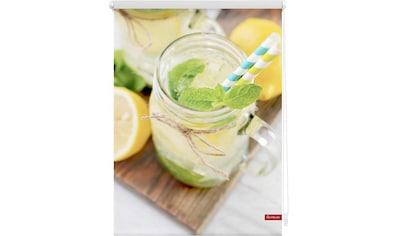 LICHTBLICK Seitenzugrollo »Klemmfix Motiv Limo«, Lichtschutz, ohne Bohren, freihängend, bedruckt kaufen