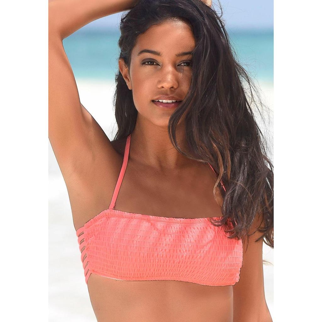 Homeboy Bandeau-Bikini-Top »Kuba«, in gerader Form
