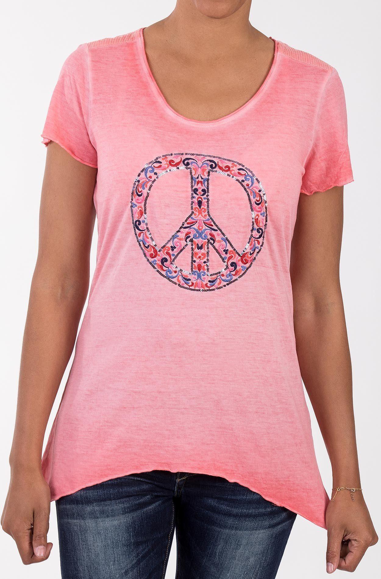 Blue Monkey Zipfelshirt | Bekleidung > Shirts > Zipfelshirts | Rosa | Blue Monkey