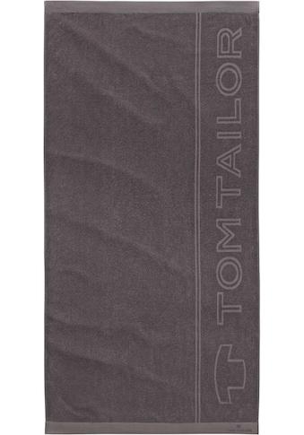 TOM TAILOR Saunatuch »Sam«, (1 St.), mit großem Logodruck kaufen
