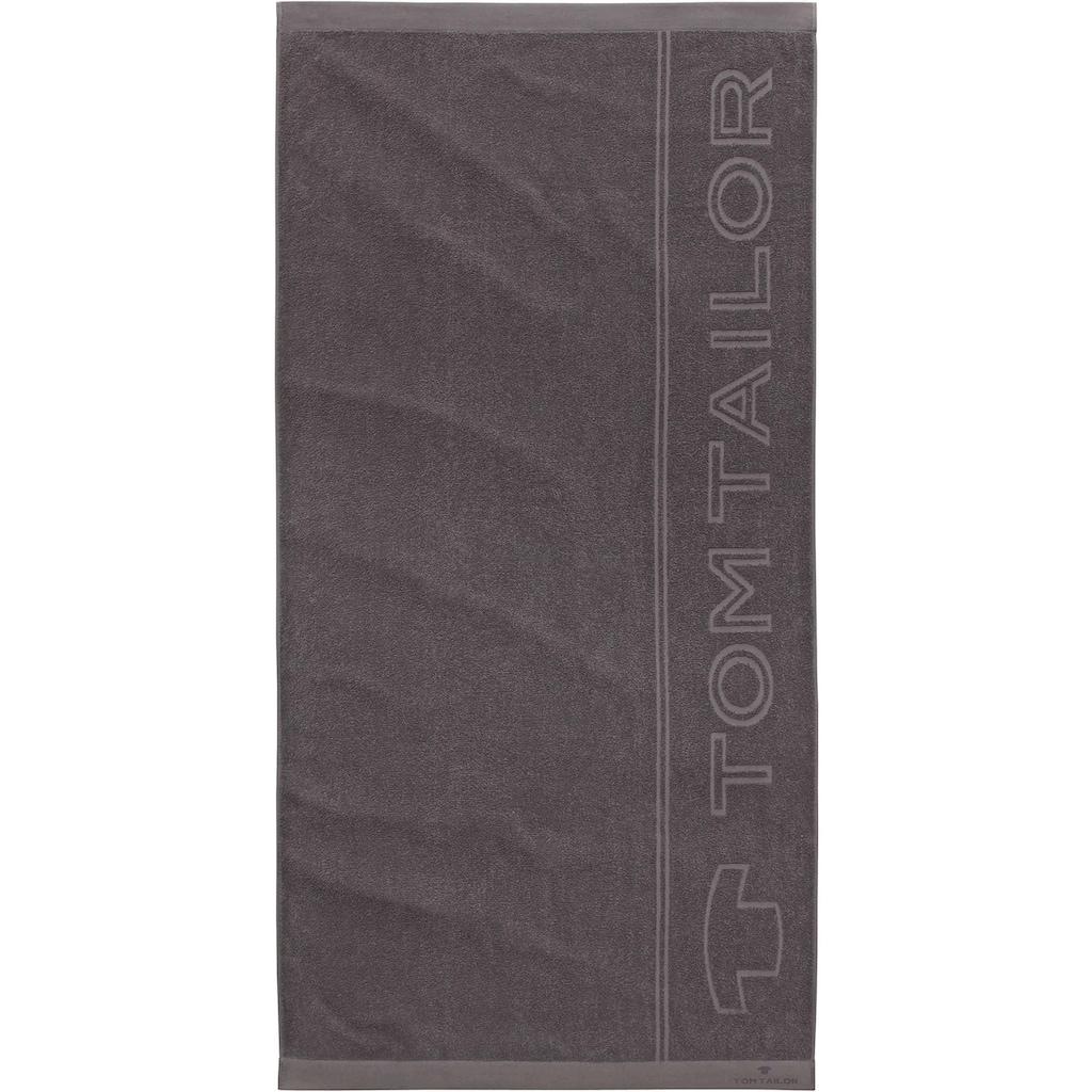 TOM TAILOR Saunatuch »Sam«, (1 St.), mit großem Logodruck