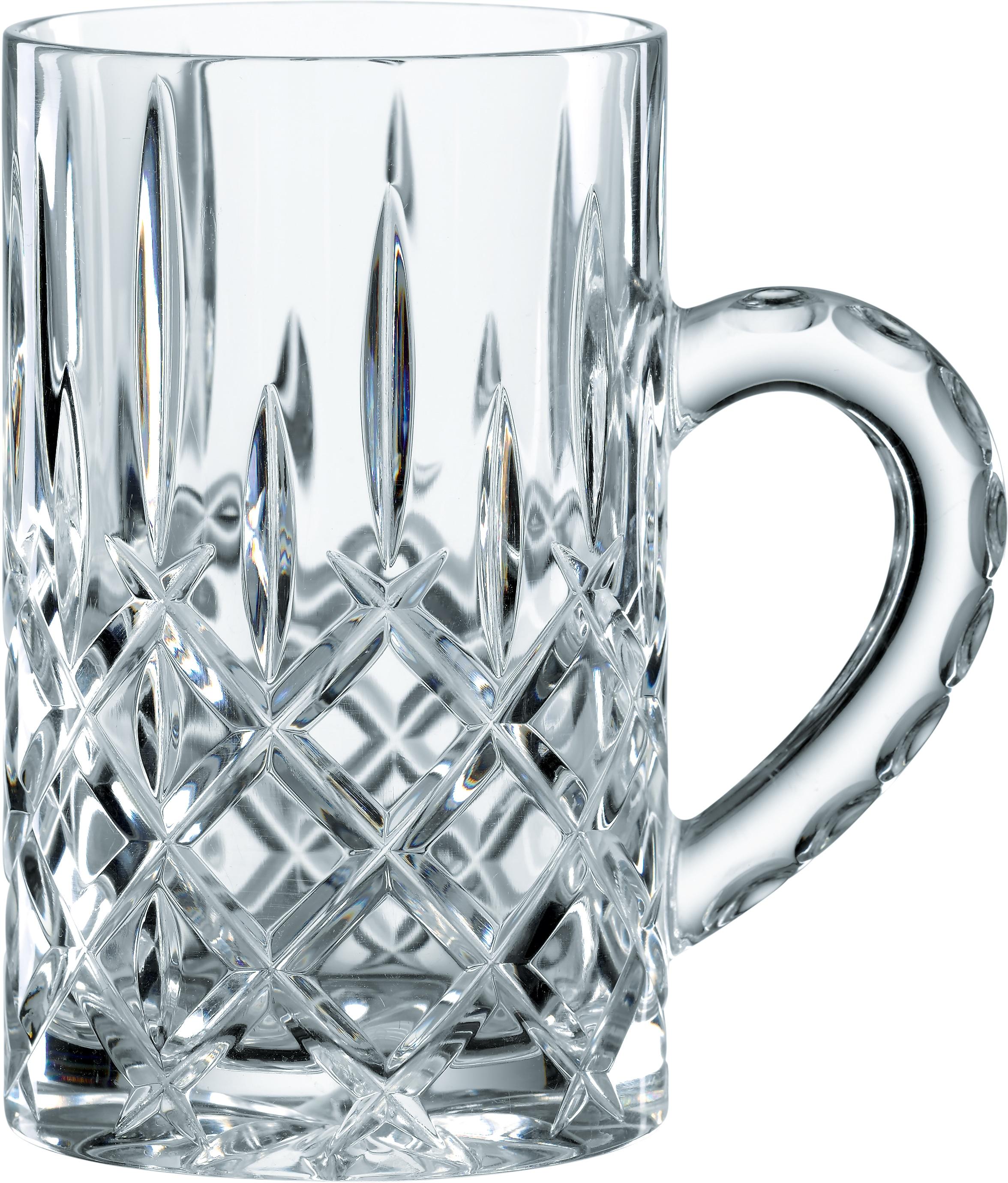 Nachtmann Teeglas Noblesse, (Set, 4 tlg.), für Glühwein, 250 ml, 4-teilig farblos Kristallgläser Gläser Glaswaren Haushaltswaren