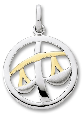 ONE ELEMENT Kettenanhänger »Sternzeichen Anhänger Waage aus 925 Silber« kaufen