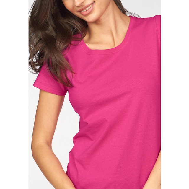 Fruit of the Loom Rundhalsshirt »Lady Fit Valueweight«