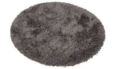 merinos Hochflor-Teppich »Floki 861«, rund, 70 mm Höhe, Besonders weich durch... kaufen