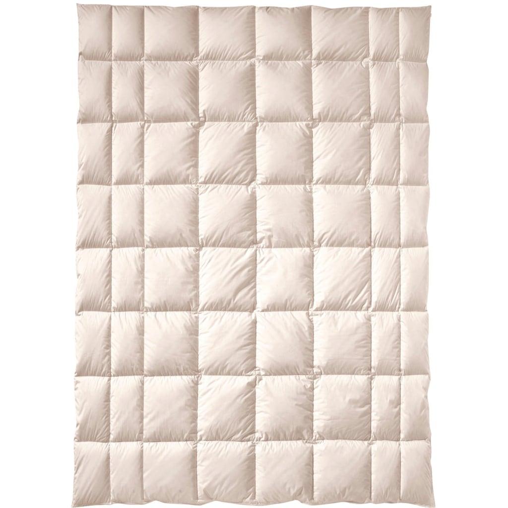 billerbeck Naturfaserbettdecke »ZIRBERELLA® Wool«, normal, Füllung 100% Wolle, Bezug Baumwolle, (1 St.), Beruhigend und entspannend!