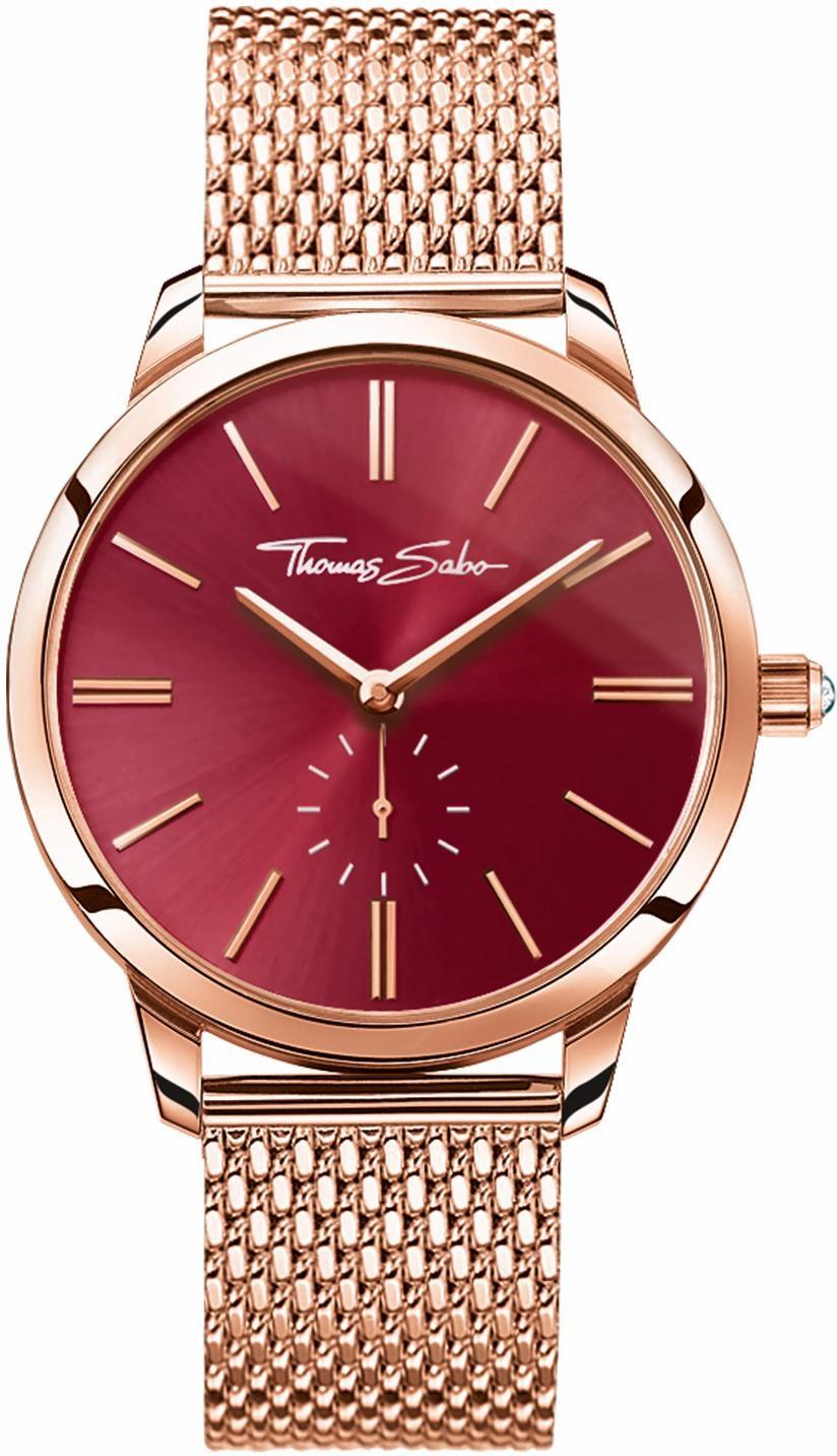 THOMAS SABO Quarzuhr GLAM SPIRIT WA0276-265-212 | Uhren > Quarzuhren | Goldfarben | Thomas Sabo
