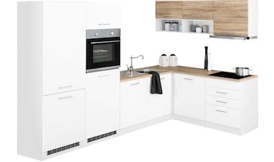 HELD MÖBEL Winkelküche »Visby«, mit E - Geräten, Stellbreite 300 x 180 cm kaufen
