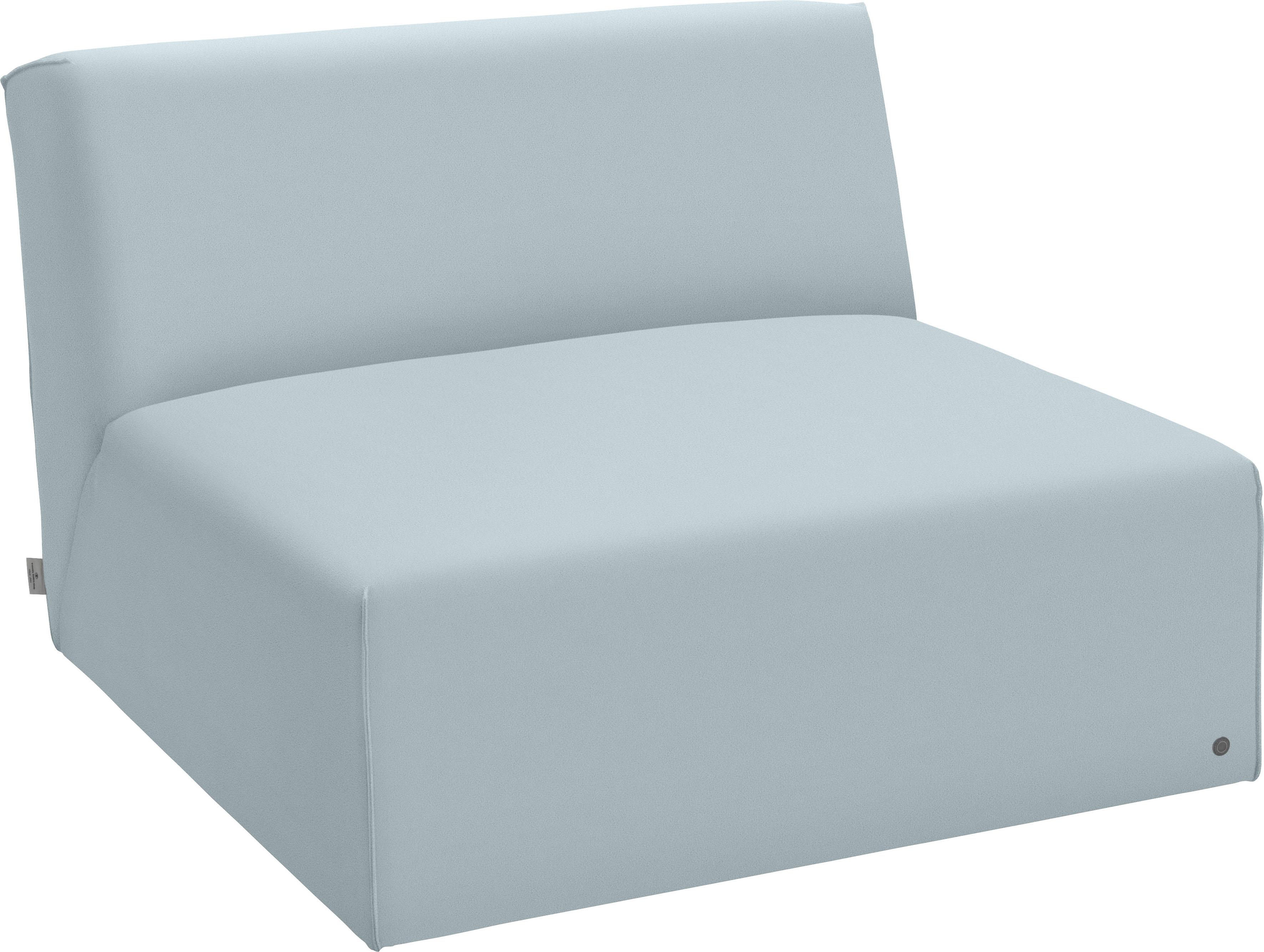 TOM TAILOR Sofaelement ELEMENTS, Sitzelement ohne Armlehne blau Sofaelemente Sofas Couches