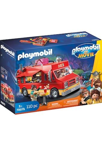 "Playmobil® Konstruktions - Spielset ""Del's Food Truck (70075), THE MOVIE"", Kunststoff, (110 - tlg.) kaufen"