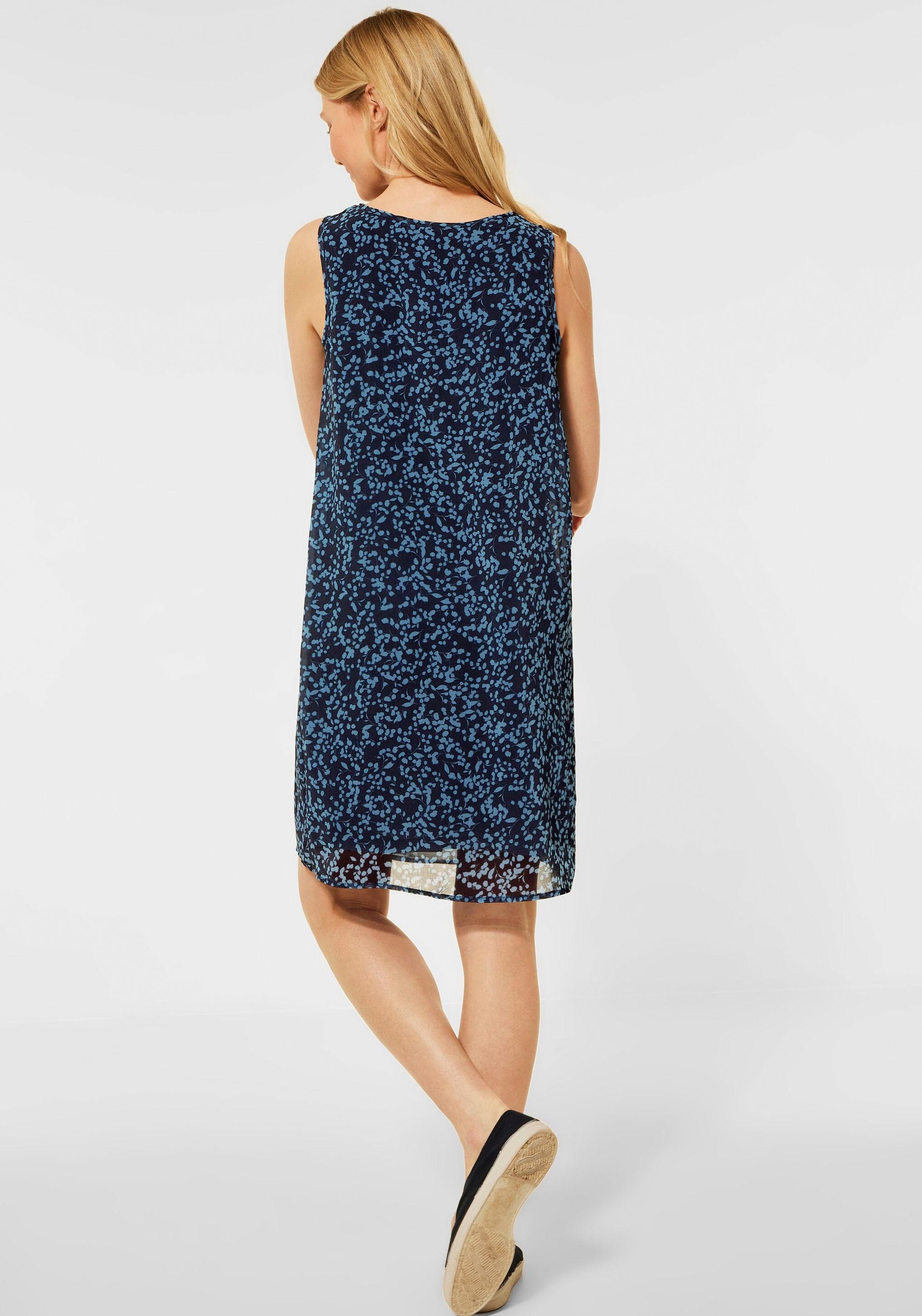 cecil -  Sommerkleid, mit verspieltem Allover-Muster