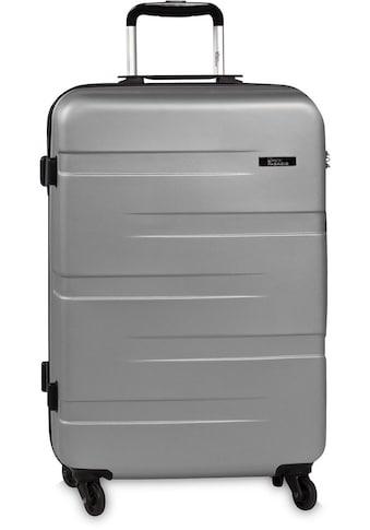 fabrizio® Hartschalen-Trolley »Formation L, 77 cm, Silberfarben«, 4 Rollen kaufen