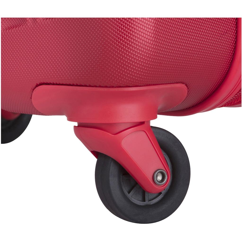 CARRYON Hartschalen-Trolley »Wave, 55 cm«, 4 Rollen, mit USB-Schleuse
