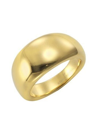 Vivance Fingerring »Edelstahl PVD gelb« kaufen