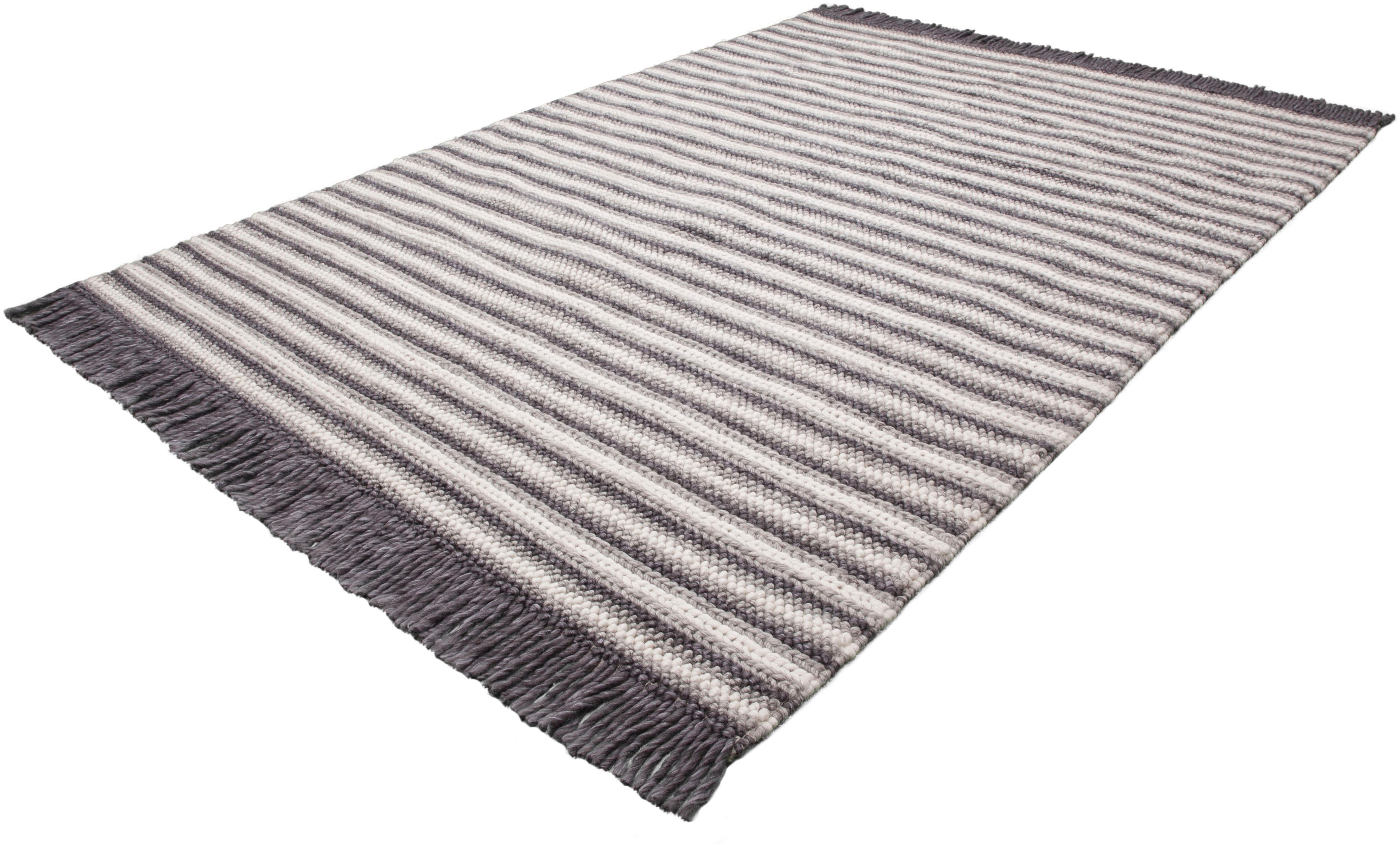 Teppich Bature 400 calo-deluxe rechteckig Höhe 10 mm handgewebt