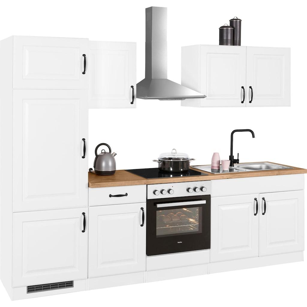 wiho Küchen Küchenzeile »Erla«, ohne E-Geräte, Breite 270 cm