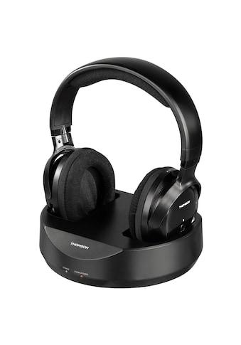 Thomson Funkkopfhörer WHP3001BK kabelloser Over - Ear Kopfhörer »für TV, Fernseher, PC, HiFi« kaufen
