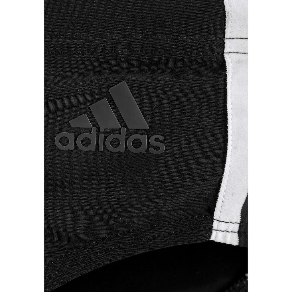 adidas Performance Badeslip, mit den typischen Adidas-Streifen