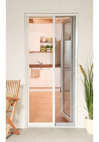 hecht international Insektenschutz-Rollo »SMART«, für Türen, weiß/anthrazit, BxH:... kaufen