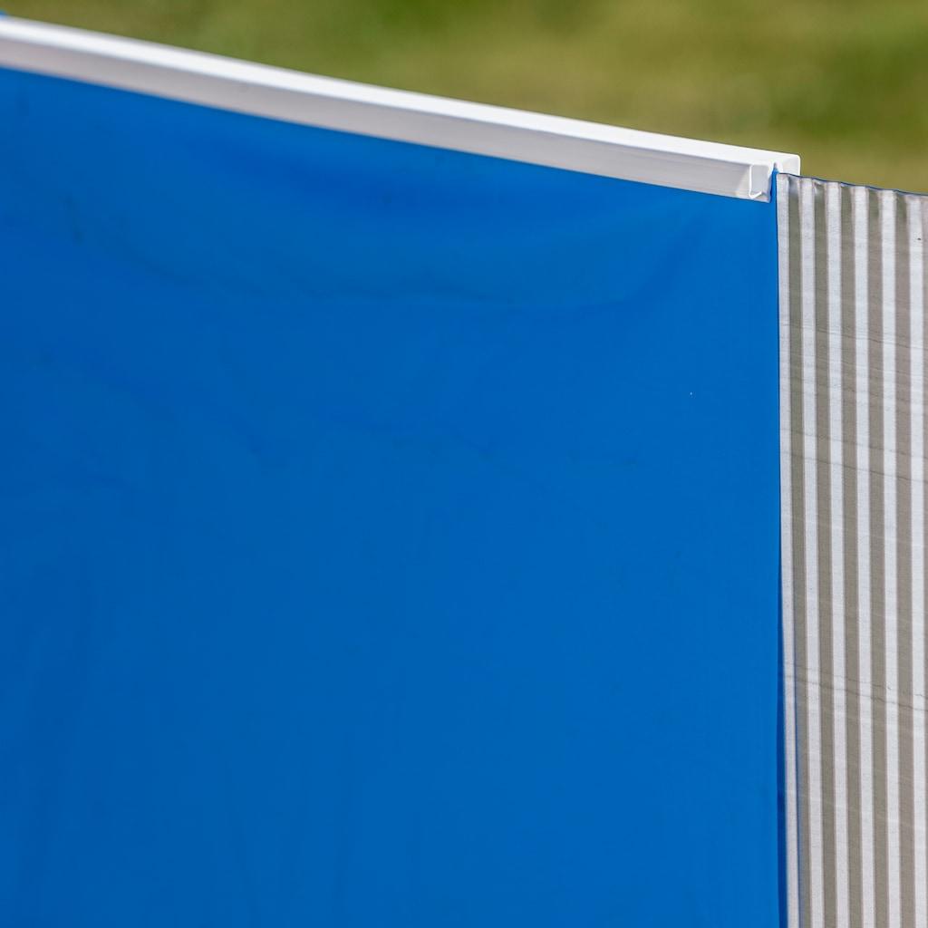 Gre Rundpool »KEA«, (Set), 8-tlg., ØxH: 460x120 cm