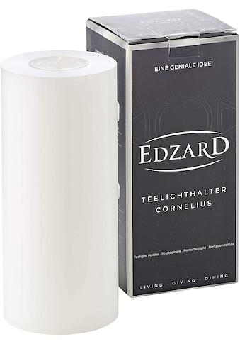 EDZARD Teelichthalter »Cornelius«, Ø 8 cm, Höhe 18 cm kaufen