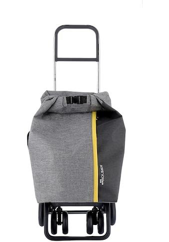 ROLSER Einkaufstrolley »Logic Tour Roll Top Tweed«, in verschiedenen Farben, Max. Tragkraft: 40 kg kaufen