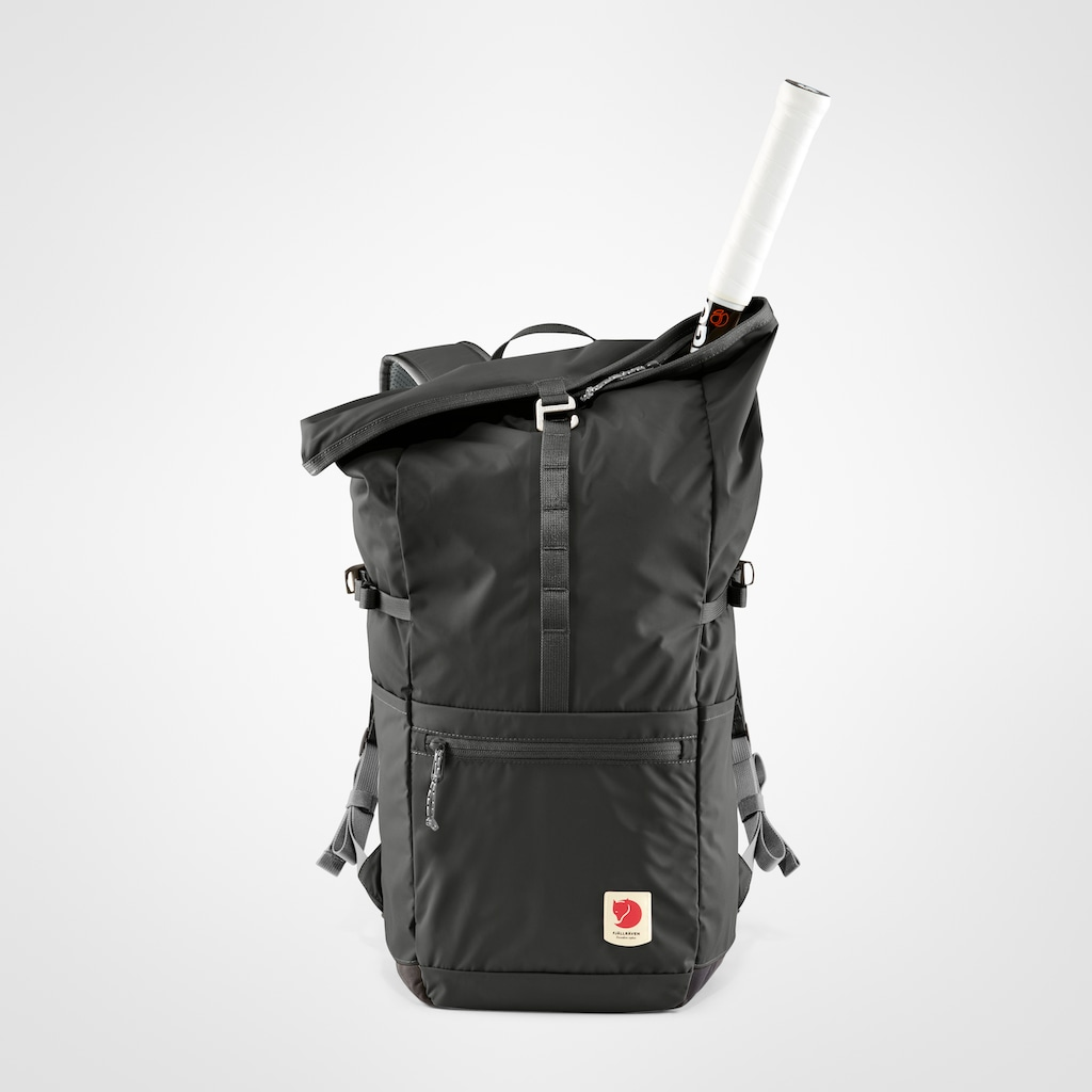 Fjällräven Laptoprucksack »High Coast Foldsack 24, dark grey«