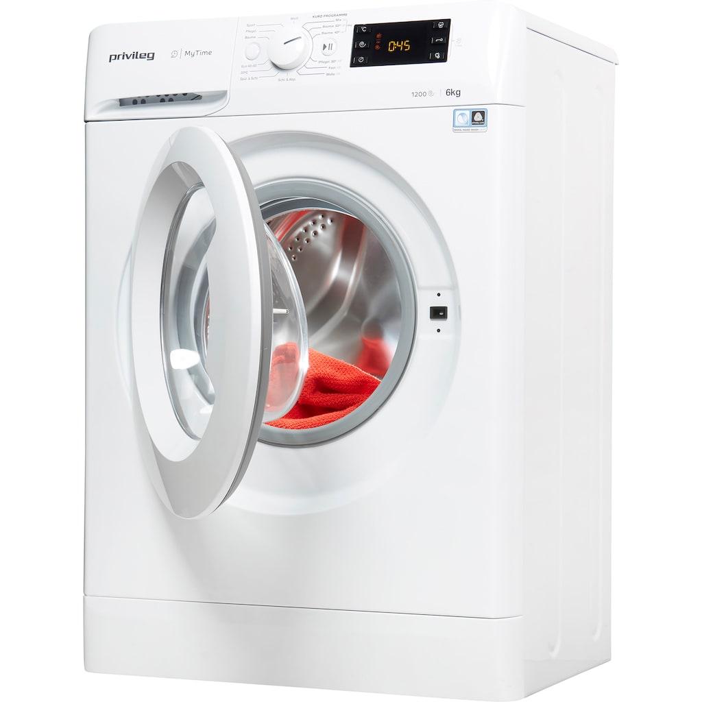 Privileg Waschmaschine »PWFS MT 61252«, PWFS MT 61252, 6 kg, 1200 U/min, nur 42,5cm tief