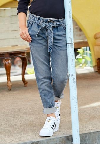 Arizona Stretch - Jeans (Set, mit Bindegürtel) kaufen