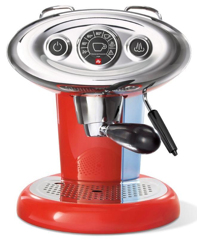 Illy Kapselmaschine FrancisFrancis X7.1 Iperespresso, rot Kaffee Espresso SOFORT LIEFERBARE Haushaltsgeräte
